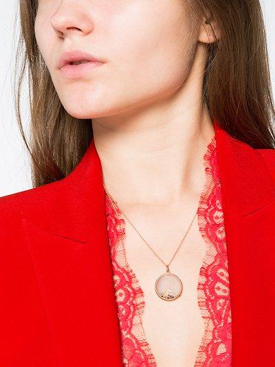 red January birthstone garnet charm