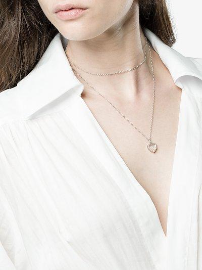 White April Diamond charm