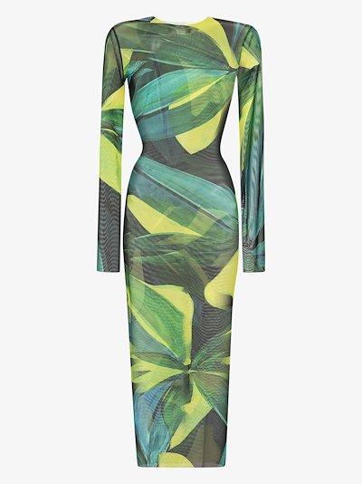 High Tide floral print midi dress
