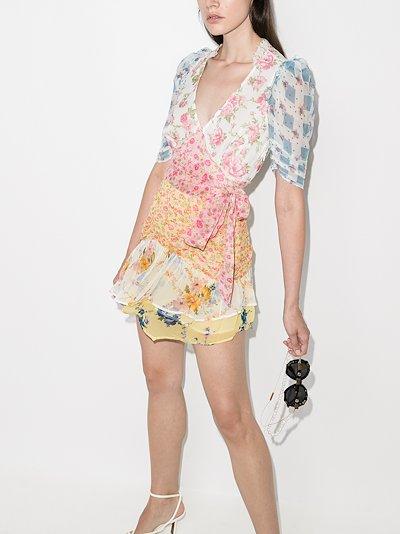 Arlo picnic patchwork dress