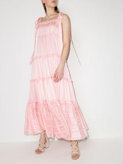 Burrows tiered Maxi Dress