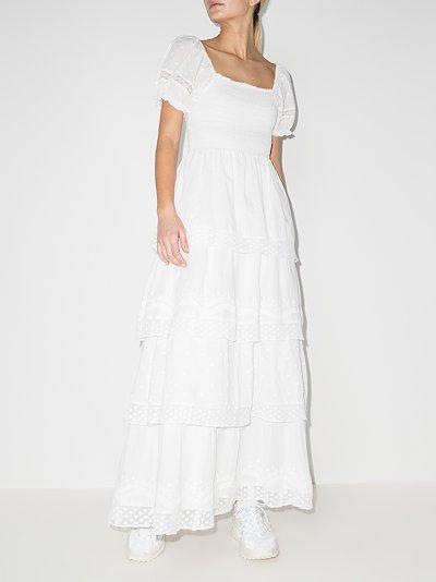Capella tiered maxi dress