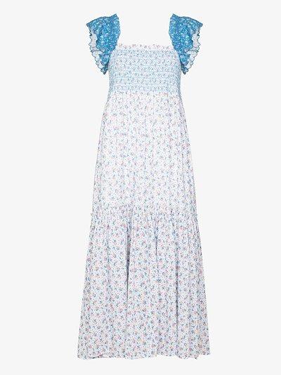 Constantine tiered maxi dress