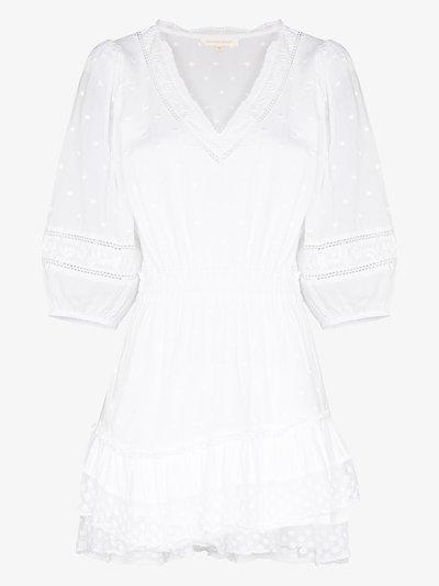 Consuela broderie anglaise mini dress