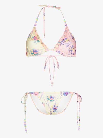 Harbor triangle bikini