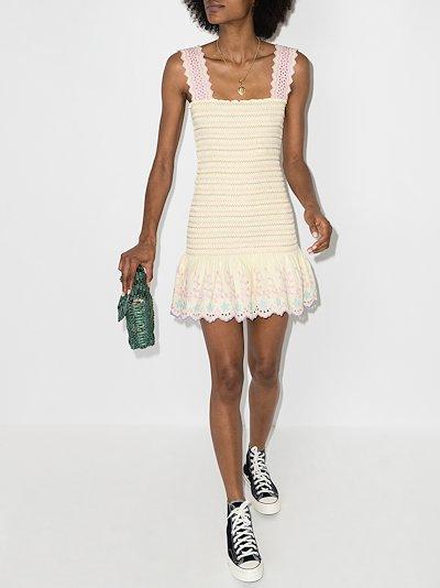 Jax smocked mini dress