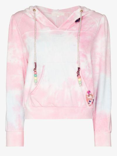 Kirby tie-dye hoodie