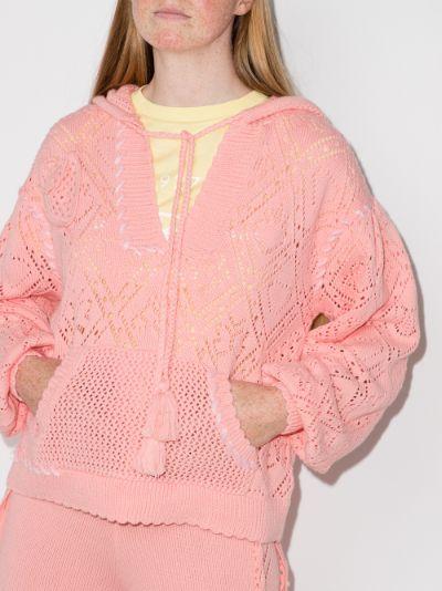 Tomaso knit cotton hoodie