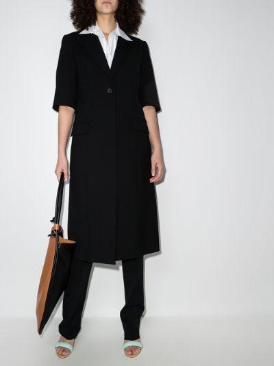 short sleeved coat