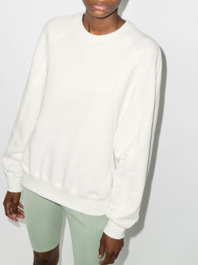 Stitch cotton sweatshirt