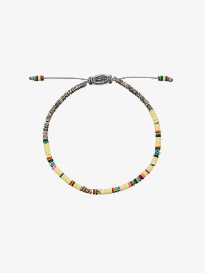 sterling silver The Ghanian beaded bracelet