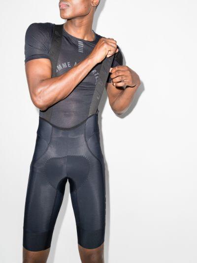 black Team Evo Bib Cycling Shorts