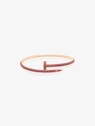customised 18K rose gold Cartier Juste un Clou bracelet