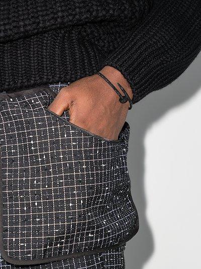 customised 18K white gold Cartier Juste un Clou bracelet
