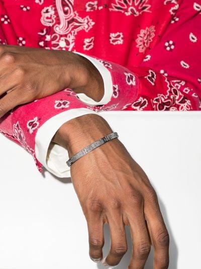 customised 18K white gold Cartier Love bracelet