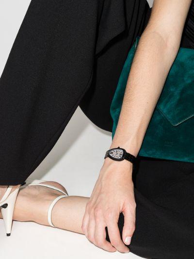 customised pre-owned Bvlgari Serpenti Seduttori watch
