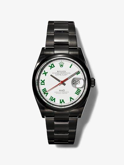 Customised Rolex Datejust watch
