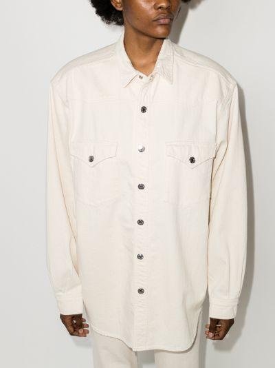 Buttoned long sleeve shirt