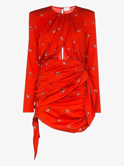 San Remo floral mini dress