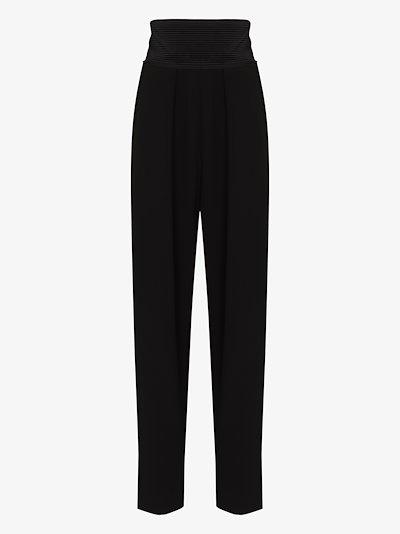 wool tuxedo trousers