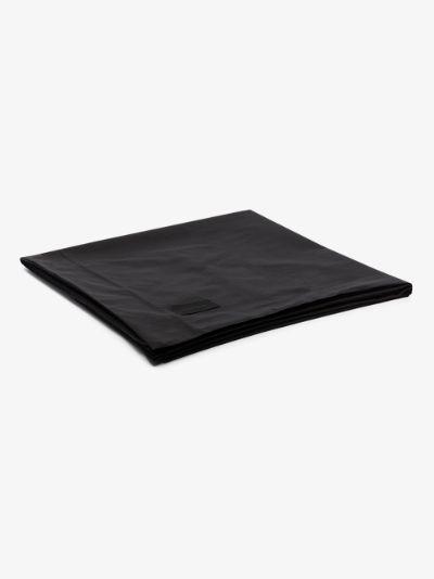 Black Pure Cotton Poplin Double Duvet Cover