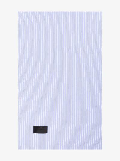 Blue Wall Street Oxford pillowcase