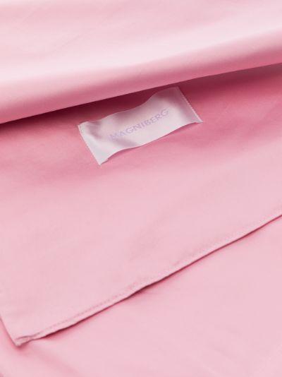 pink Pure cotton sateen double duvet cover