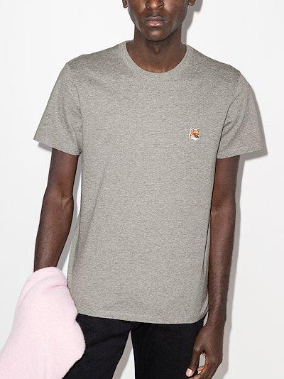 fox head patch T-shirt