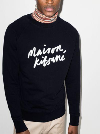 handwritten logo sweatshirt
