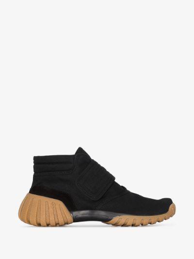 black Tabi scuba sneakers