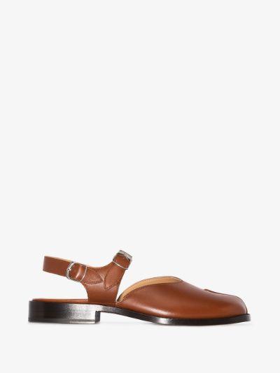 brown Tabi leather sandals
