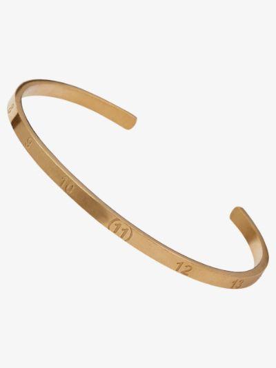 engraved number bracelet