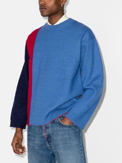 Gauge 12 wool sweater