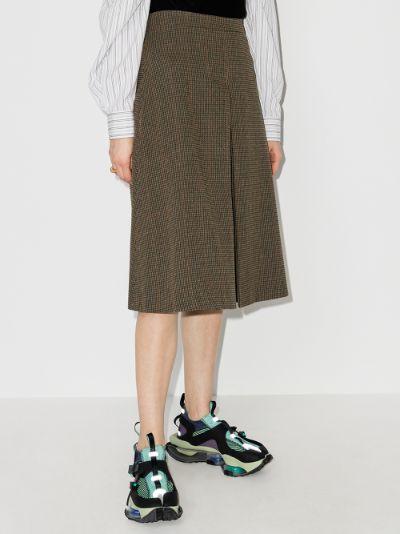 high waist knee-length shorts