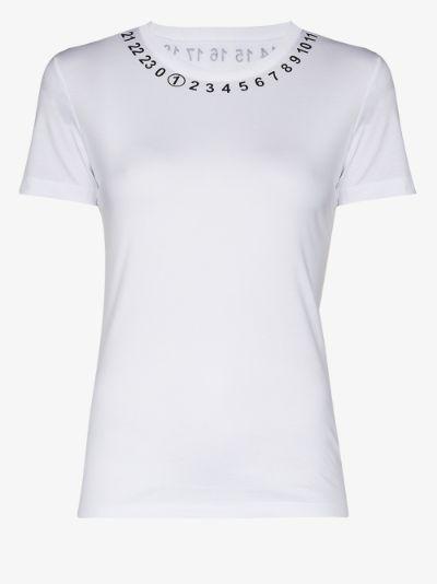 number print T-shirt
