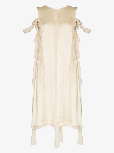 ripped midi dress
