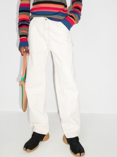 straight leg workwear jeans