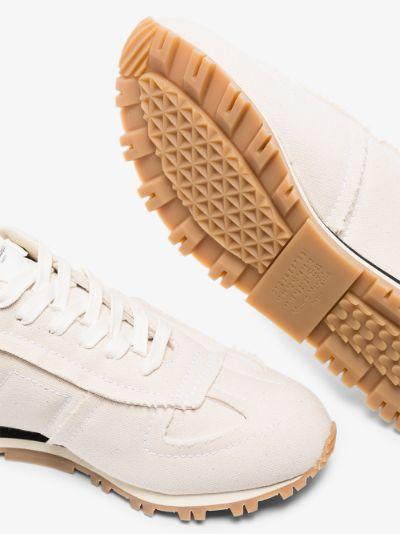 white Replica canvas sneakers