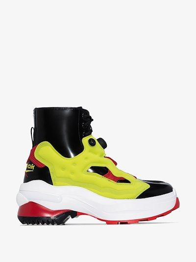 x Reebok instapump style boots