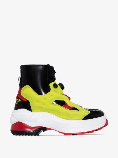 X Reebok multicoloured Tabi Instapump Fury sneakers