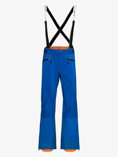 blue Nordwand ski trousers