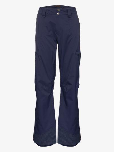 Blue Stoney Hardshell ski trousers