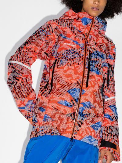 multicoloured Nordwand Visiflage Hooded Jacket