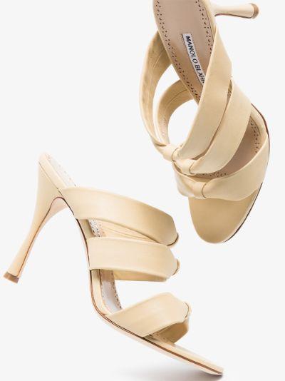 Neutral Gyrica 105 Leather sandals