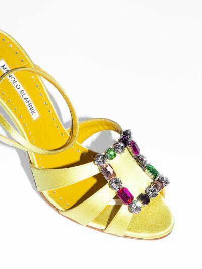 yellow Centina 105 sandals