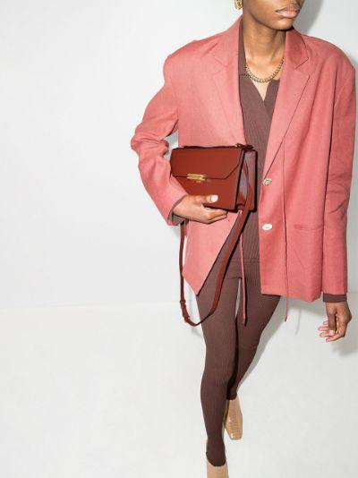 brown Jackie leather shoulder bag