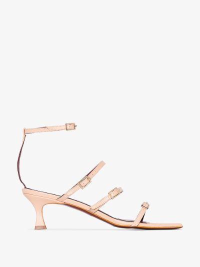 Cream Naomi 50 leather sandals