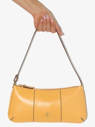 Yellow Pita Baguette Shoulder Bag