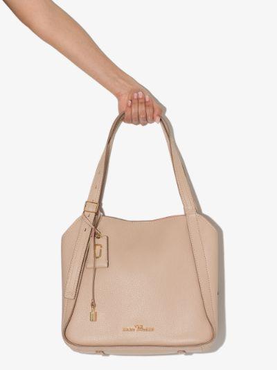 Neutral The Director leather shoulder bag