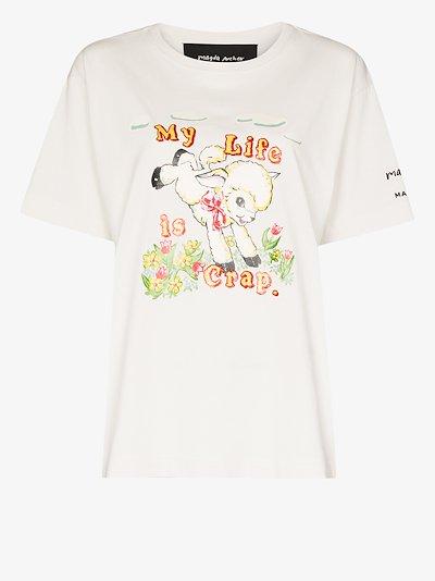 X Magda Archer printed T-shirt